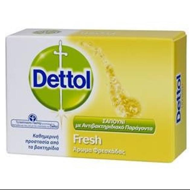 Dettol Σαπούνι Μπάρα fresh 100 gr