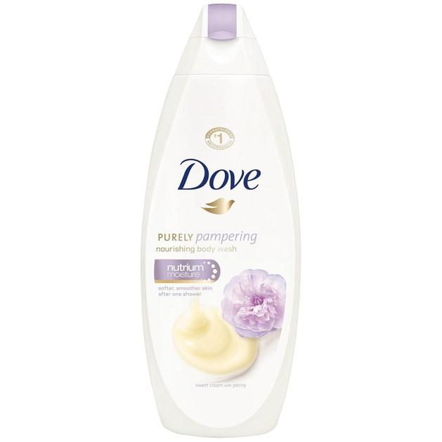 Dove Purely Pampering Sweet Cream with Peony Ενυδατικό Αφρόλουτρο Χαρίζει Στιγμές Χαλάρωσης & Φροντίδας στο Μπάνιο σας 750ml