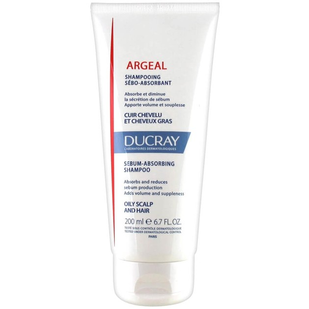 Ducray Argeal Shampooing Sebo-Absorabant 200ml