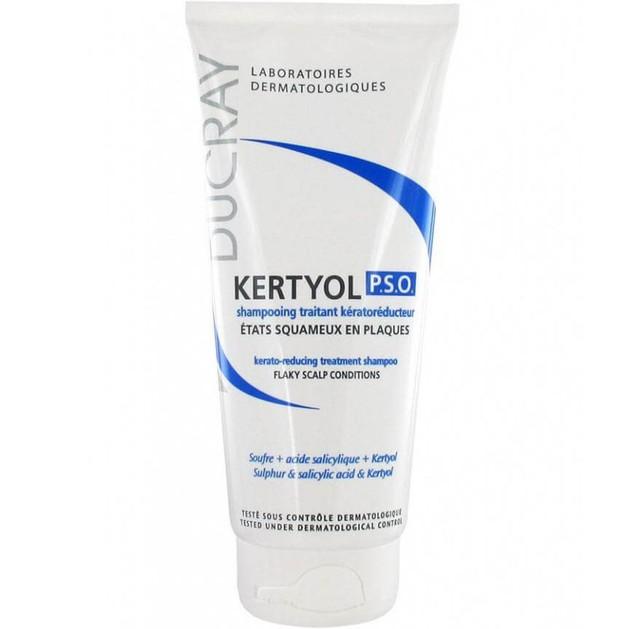 Kertyol P.S.O. Shampooing Traitant Keratoreducteur 200ml - Ducray