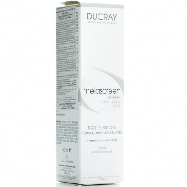 Ducray Melascreen Eclat Creme Legere Spf15, 40ml