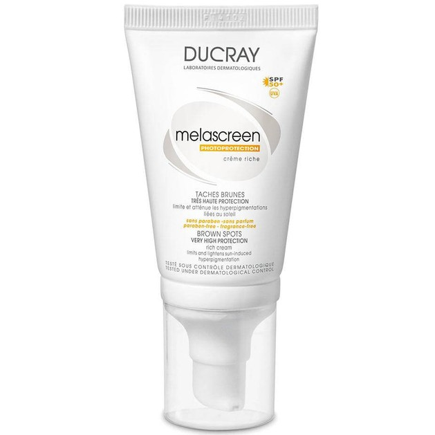 Ducray Melascreen UV Creme Riche Spf50+, 40ml