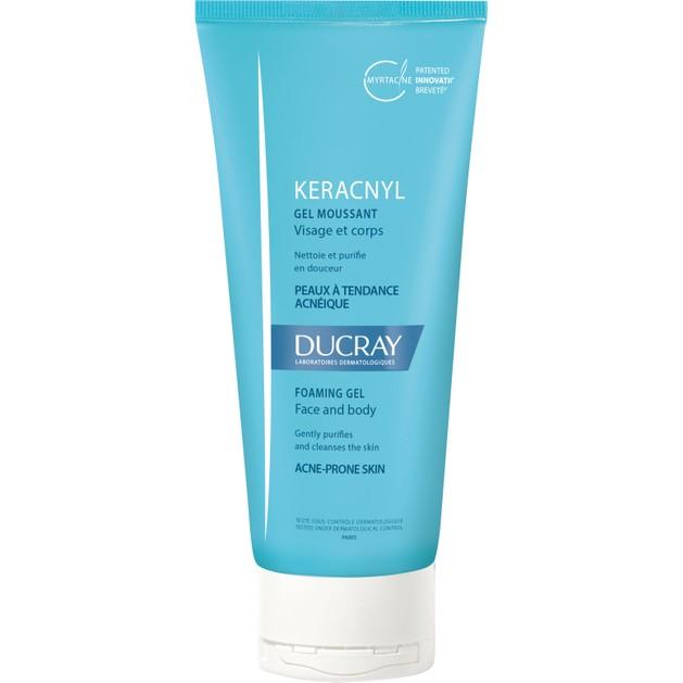 Δώρο Ducray Keracnyl Gel Moussant Gel Καθαρισμού Προσώπου & Σώματος για Δέρματα με Ατέλειες 40ml