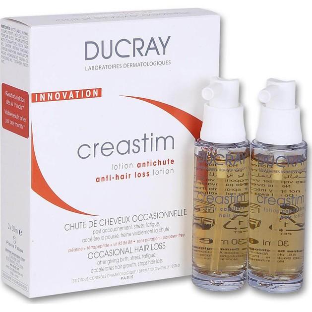 Ducray Hair Creastim Lotion για Τριχόπτωση 2x30ml Promo -20%