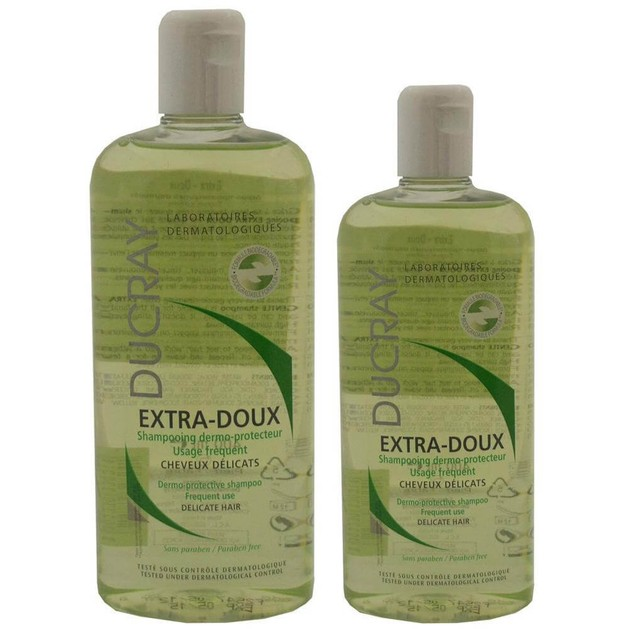 Ducray Πακέτο Προσφοράς Extra-Doux Shampooing 400ml & Δώρο Επιπλέον 200ml