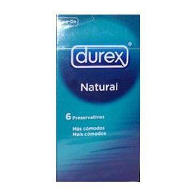 Durex Natural 6 Τεμάχια