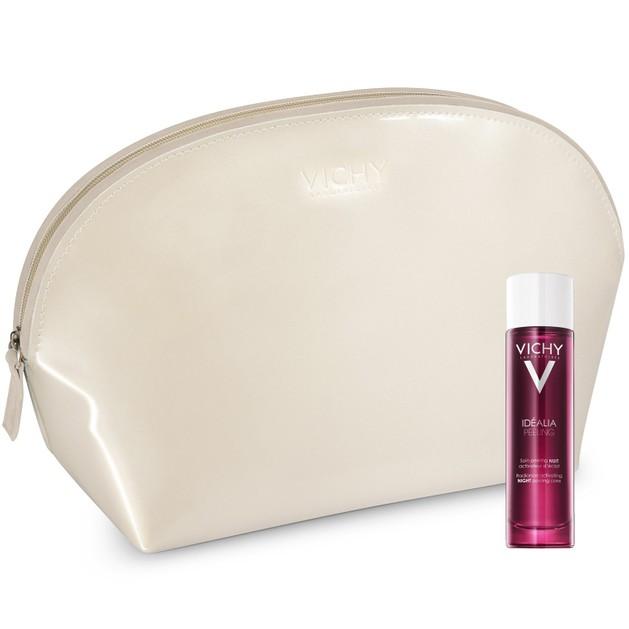 Δώρο Vichy Idealia Peeling Απολέπιση Νυχτός για Λάμψη, Πρώτες Ρυτίδες & Λεπτές Γραμμές 3ml & Vichy Μοναδικό Νεσεσέρ