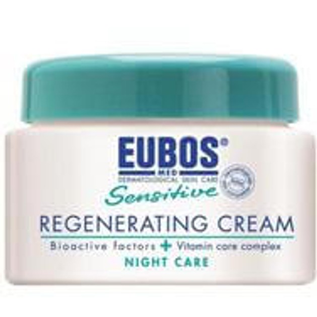 Eubos Sensitive Regenerating Night Cream Αναπλαστική Κρέμα Νύχτας, κατά της Πρόωρης Γήρανσης του Δέρματος 50ml