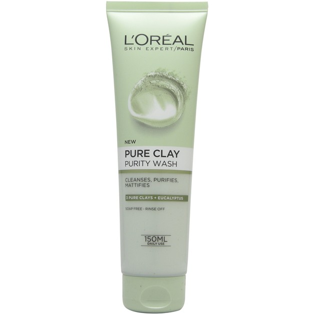 L\'oreal Paris Pure Clay Purity Wash 150ml