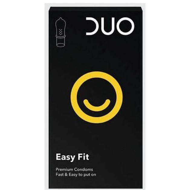 Duo Easy Fit Ευκολοφόρετα Προφυλακτικά 6τεμ