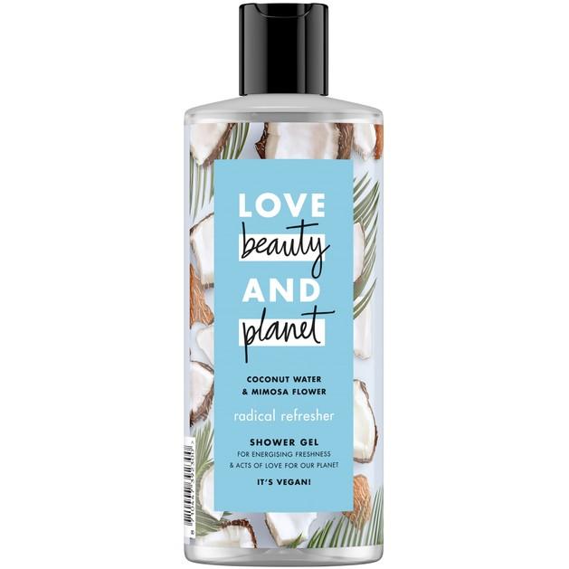 Love Beauty & Planet Shower gel Coconut Water & Mimosa Flower 500ml