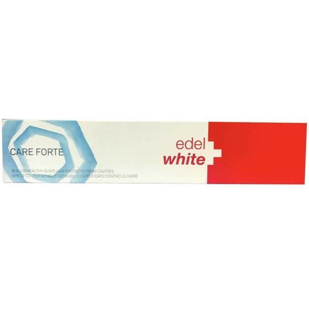 Edel White Care Forte Οδοντόκρεμα που Προστατεύει τα Ευαίσθητα Δόντια & Φροντίζει τα Ούλα 75ml
