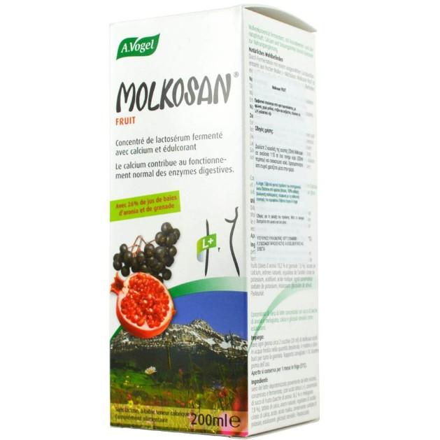 A.Vogel Molkosan Fruit  Πρεβιοτικό Σκεύασμα για τη Σωστή Λειτουργία Του Πεπτικού Συστήματος 200ml