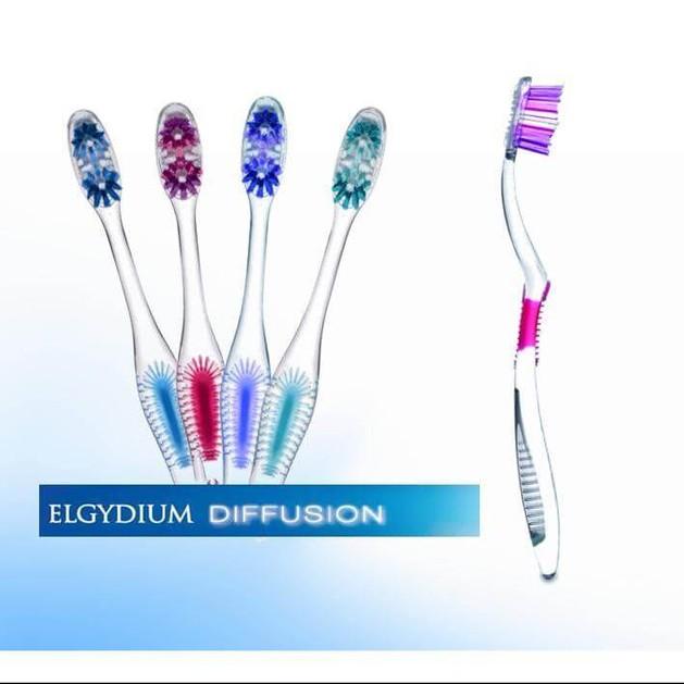 Elgydium Diffusion Οδοντόβουρτσα Με Πρωτοποριακή Τεχνολογία AFT Για Ολοκληρωμένο Και Πλήρη Καθαρισμό Του Στόματος Hard