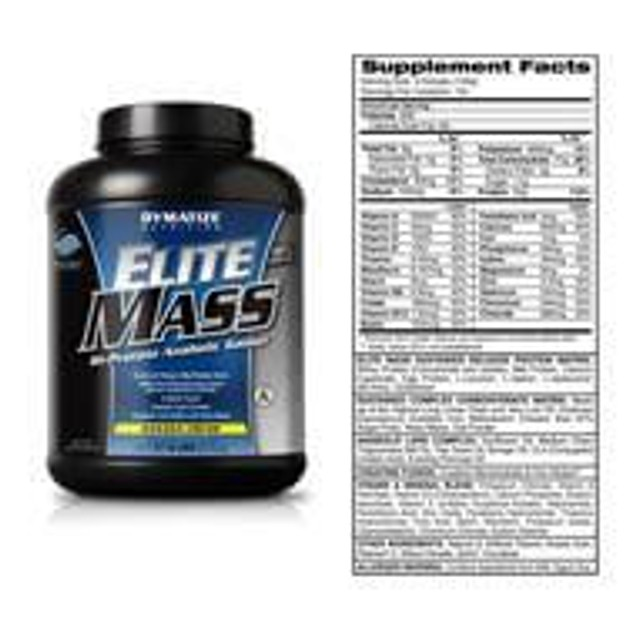 Dymatize Elite Mass Gainer Φόρμουλα Όγκου 2,7 Kgr