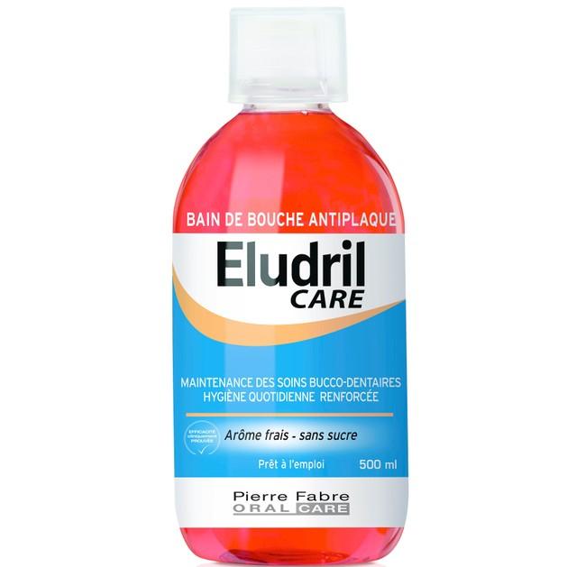 Elgydium Eludril Care Στοματικό Διάλυμα 500ml