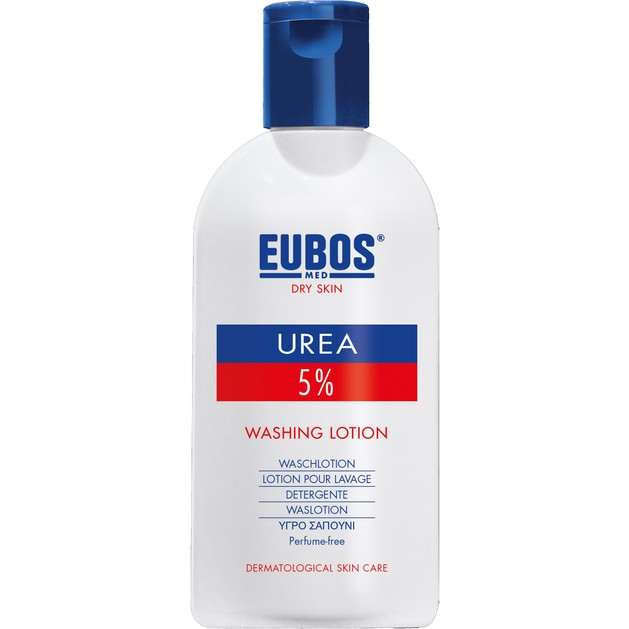 Eubos Urea 5% Washing Lotion Hydrolotion Υψηλή Περιποίηση του Ξηρού Δέρματος Κατά την Καθημερινή Χρήση 200ml