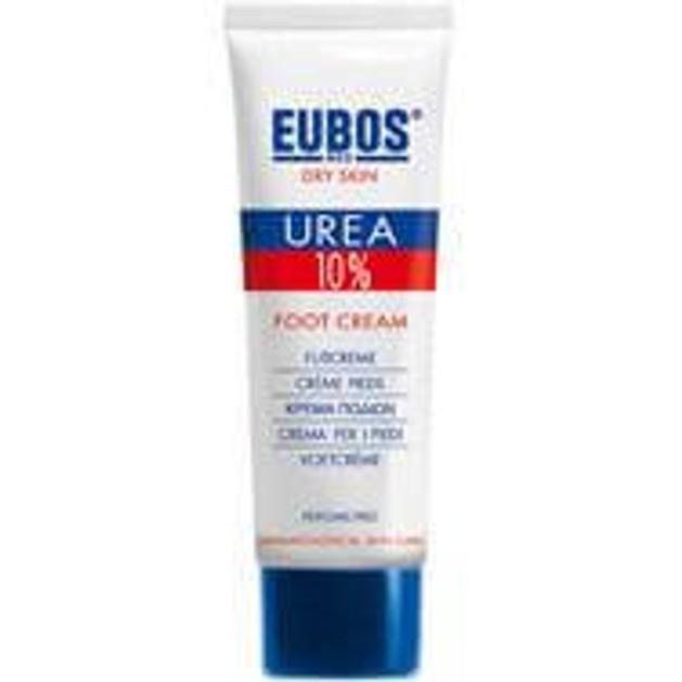 Eubos Urea 10% Foot Cream Για ξηρό & τραχύ δέρμα, ραγάδες & σκληρύνσεις του δέρματος των ποδιών 100ml