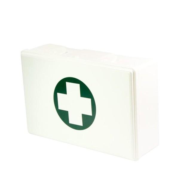 Ecofarm Eurokit Πολυεστέρας Λευκό Βαλιτσάκι Φαρμακείο 1 Τεμάχιο