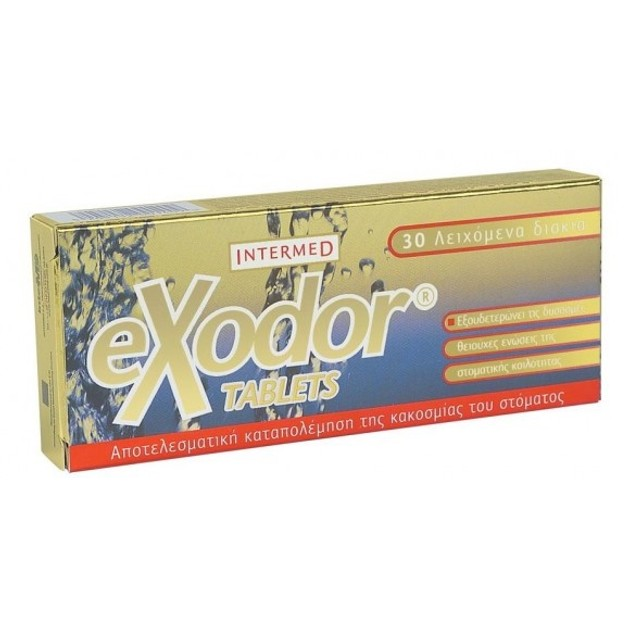 Intermed Exodor Tablets 30Tabs
