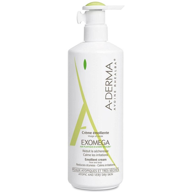 A-Derma Exomega Creme Emollient Μαλακτική Κρέμα για Ατοπικό Δέρμα 400ml