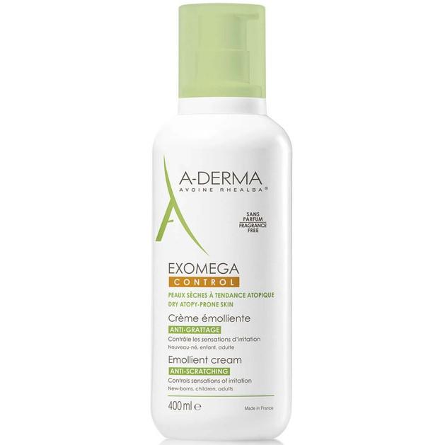 A-Derma Exomega Control Emollient Cream 400ml Promo -15%