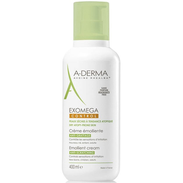 Exomega Control Emolliente Cream 400ml - A-derma