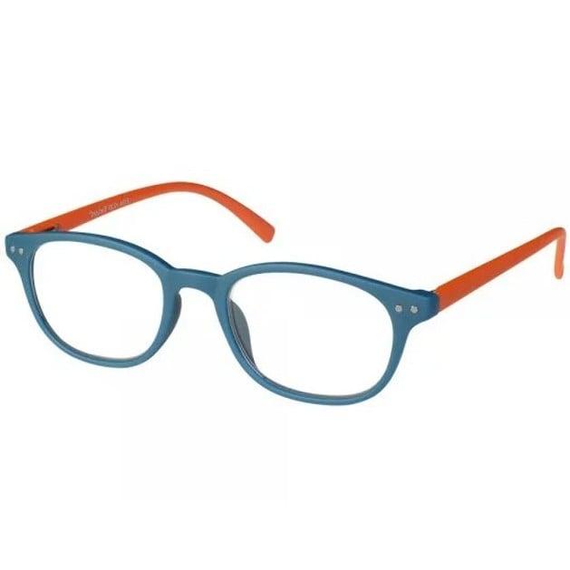 Eyelead Γυαλιά Διαβάσματος Unisex Μπλε Πορτοκαλί Κοκκάλινο E154