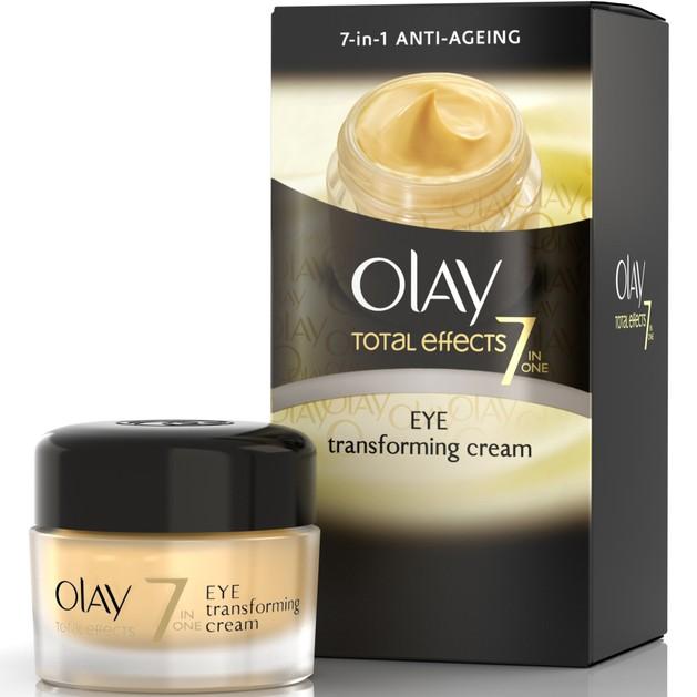 Olay Total Effects 7 Eye Transforming Cream Αντιρυτιδική & Ενυδατική Κρέμα Ματιών Καταπολεμά τα 7 Σημάδια της Γήρανσης 15ml