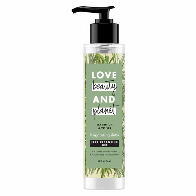Love Beauty & Planet Face Cleansing Vetiver Gel 125ml