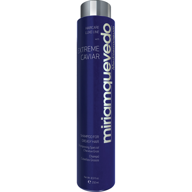 Miriam Quevedo Extreme Caviar Shampoo For Greasy Hair Σαμπουαν Για Λιπαρά Μαλλιά 250ml