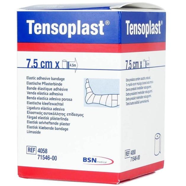 BSN Medical Tensoplast Ελαστικός Αυτοκόλλητος Επίδεσμος 7,5cm x 4,5m