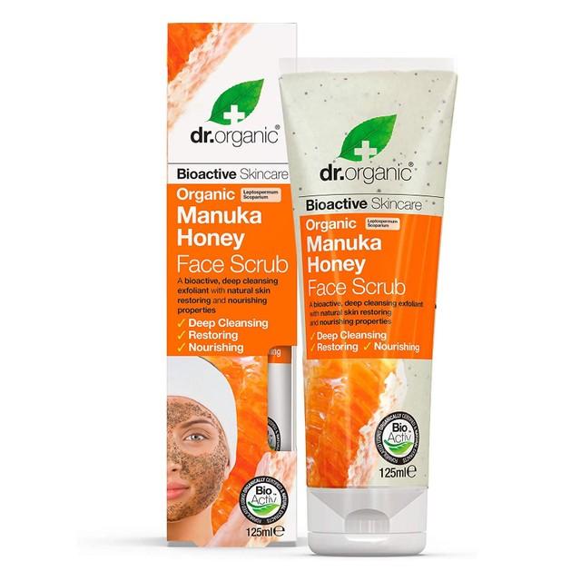 Dr.Organic Organic Manuka Honey Face Scrub 125ml