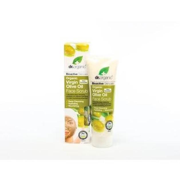 Dr.Organic Organic Virgin Olive Oil Face Scrub 125ml