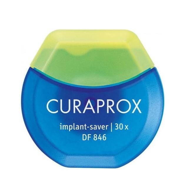 Curaprox DfF846 Implant - Saver Οδοντικό Νήμα για Εμφυτεύματα 30 Χρήσεων