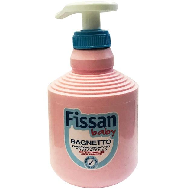 Fissan Baby Bagnetto Βρεφικό Σαμπουάν - Αφρόλουτρο 250ml