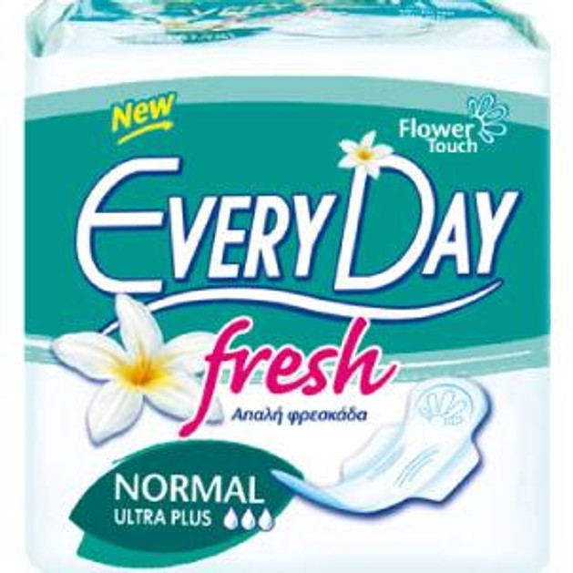 EveryDay Fresh Ultra Plus Normal 10τεμ.