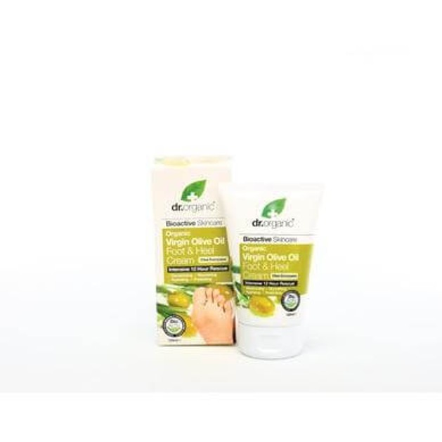 Dr.Organic Organic Virgin Olive Oil Foot & Heel Cream 125ml