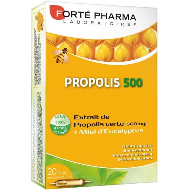 Forte Pharma Propolis 500, 20Αμπούλες x 10ml