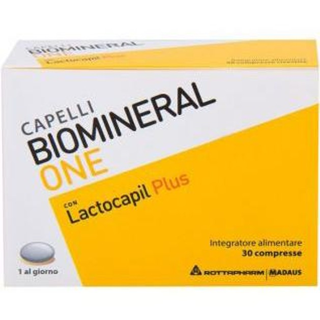 Biomineral One con Lactocapil Plus Συμπλήρωμα Διατροφής Κατά της Τριχόπτωσης 30caps