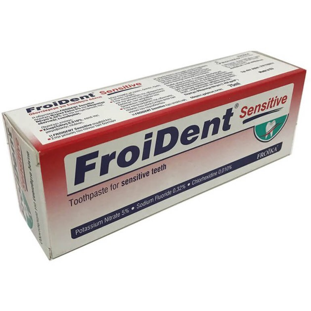 Froident Sensitive Toothpaste 75ml - Froika