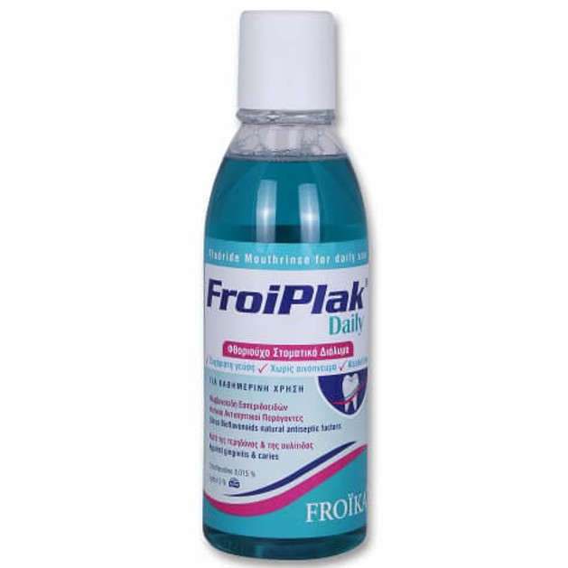 Froika Froiplak Daily Mouthwash 500ml