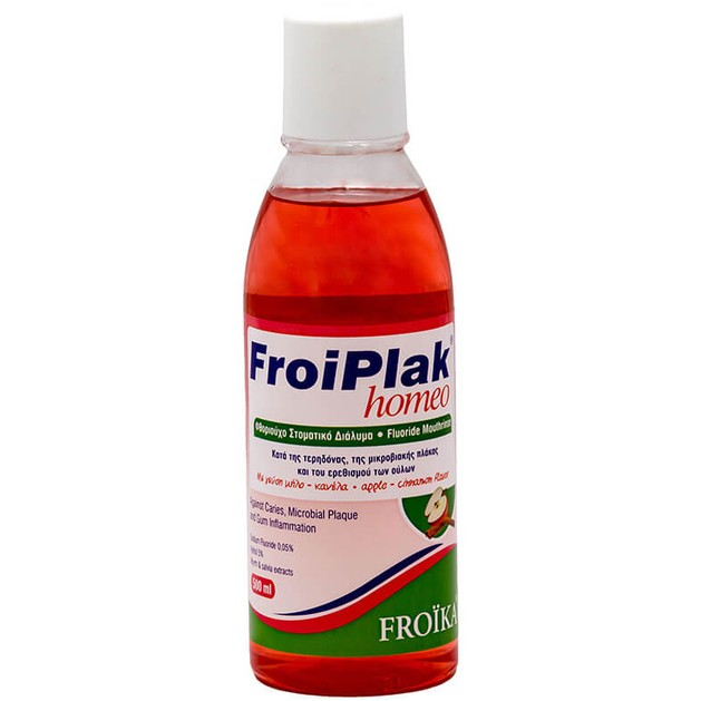 Froika Froiplak Homeo Mouthwash 500ml