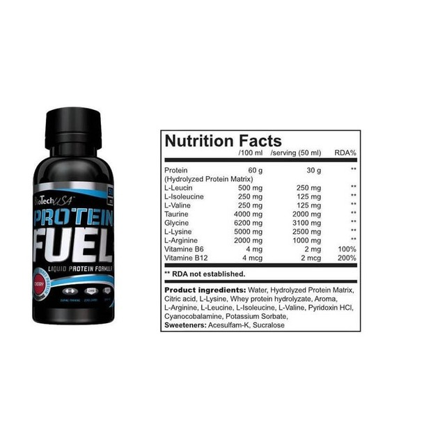 Biotech Usa Protein Fuel Πρωτεΐνη Ορού Γάλακτος 50ml