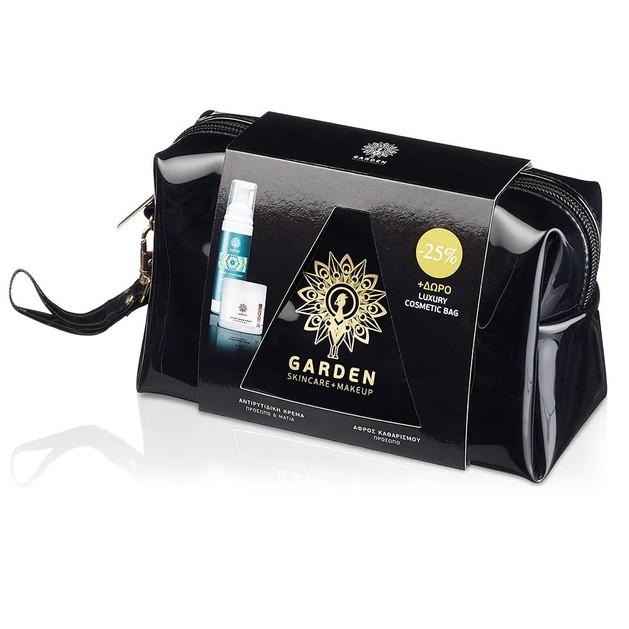 Garden of Panthenols Αντιρυτιδική Κρέμα Προσώπου Ματιών 50ml & Απαλός Αφρός Καθαρισμού Προσώπου Ματιών 100ml Promo -25%