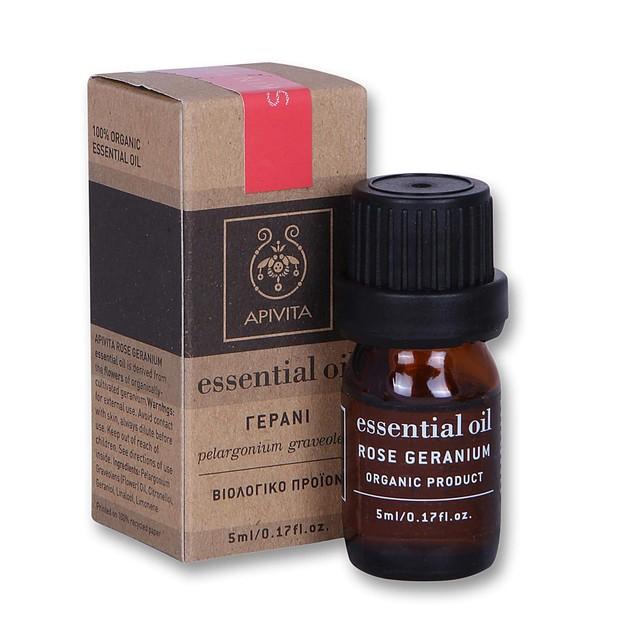 Apivita Essential Oil Geranium Γεράνι 5ml