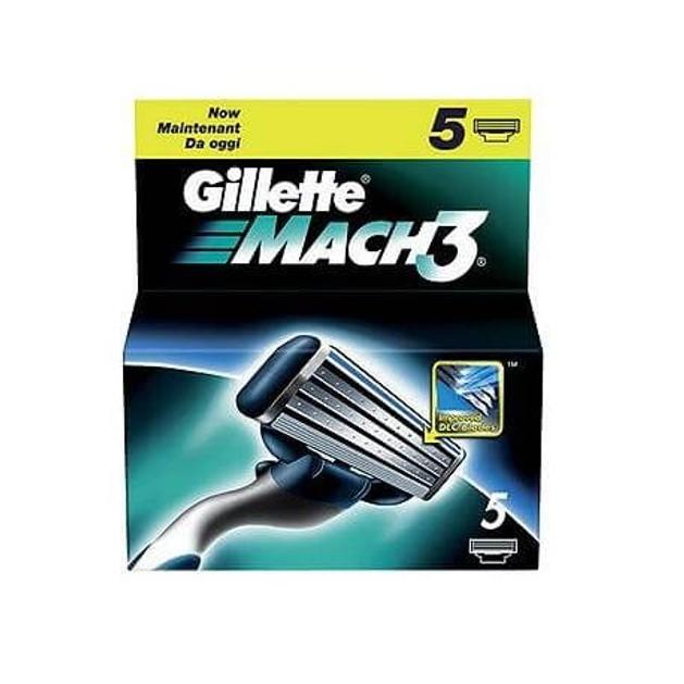 Gillette Ανταλλακτικά Gillette Mach 3 5 τεμ.