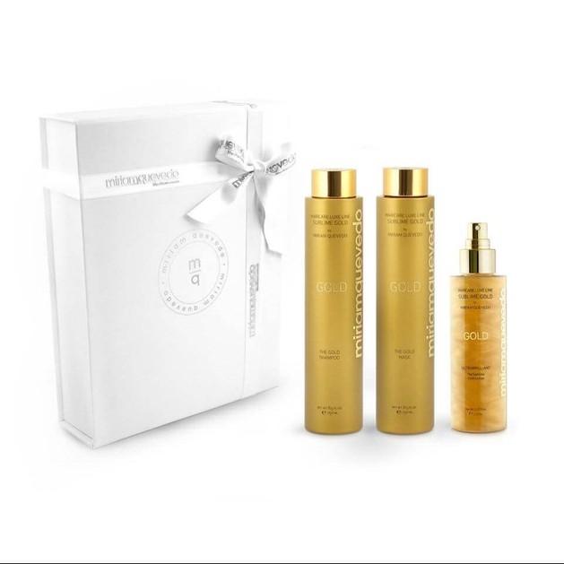 Miriam Quevedo Gold Value Set Lotion + Shampoo+ Mask 3x250ml