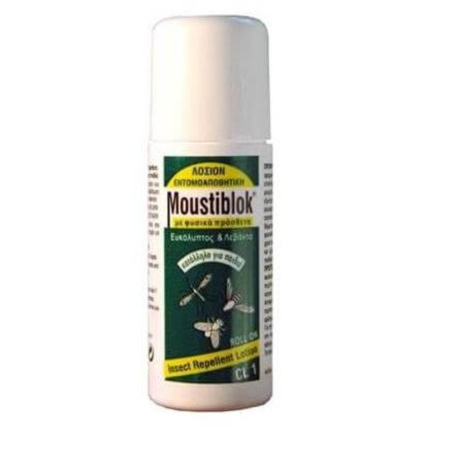 Moustiblok CL1 Με Φυσικά Απωθητικά Με Ευκάλυπτο και Λεβάντα Roll-on 50 ml