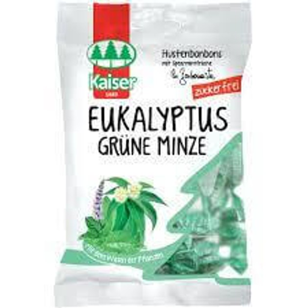 Kaiser Eukalyptus Grune Minze Με Δυόσμο και Ευκάλυπτο 60gr